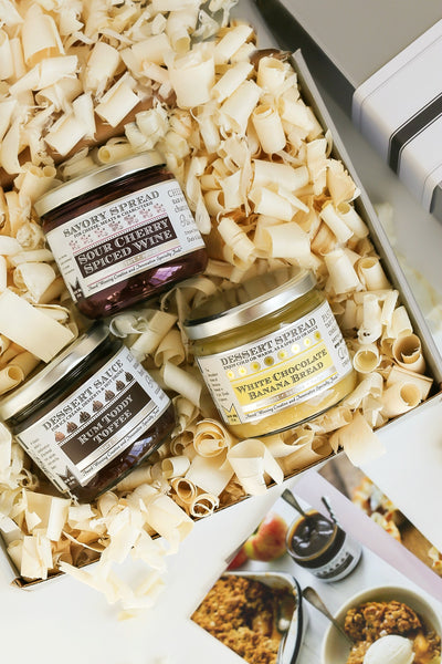 Dessert Sauces Gift Set | Wozz! Kitchen Creations