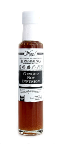 Ginger Soy Infusion Dressing | Wozz! Kitchen Creations