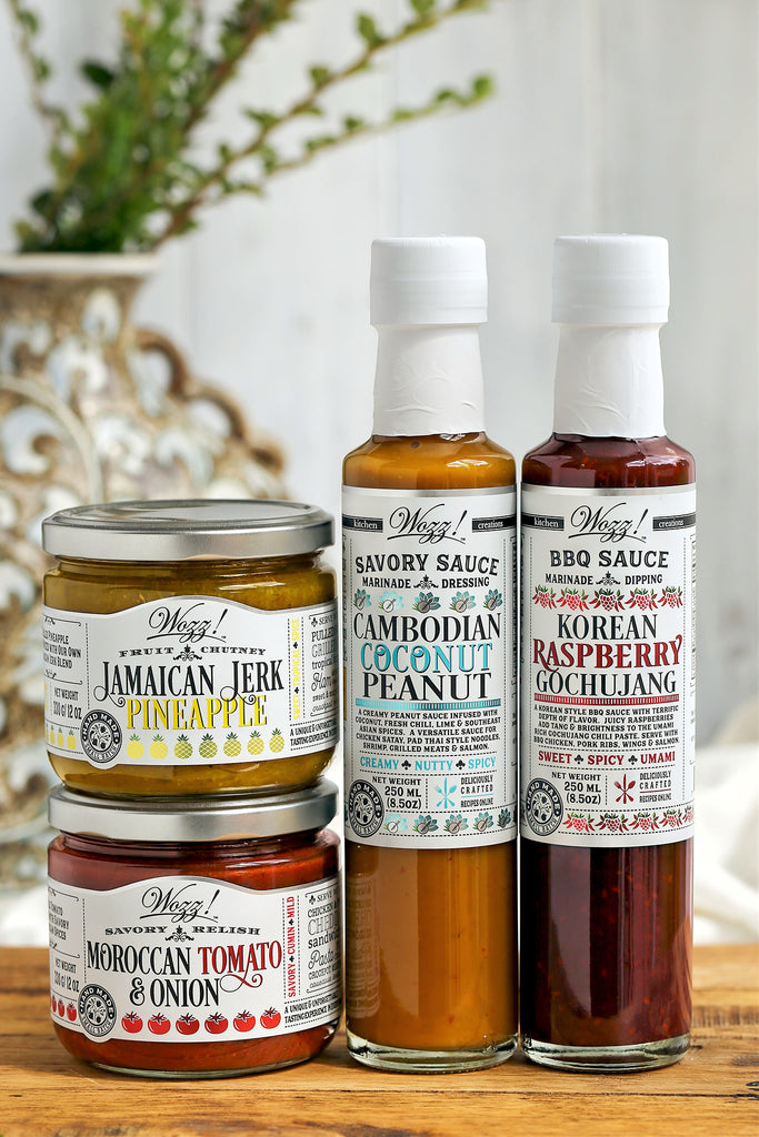 Global Cooking Sauces and Around The World Sauces