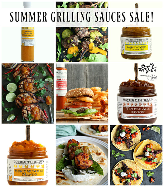 Summer Grilling Sauces | Grilling Condiments | Wozz! Kitchen Creations