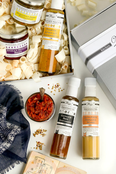 Around The World Sauces Gourmet Gift | Wozz! Kitchen Creations