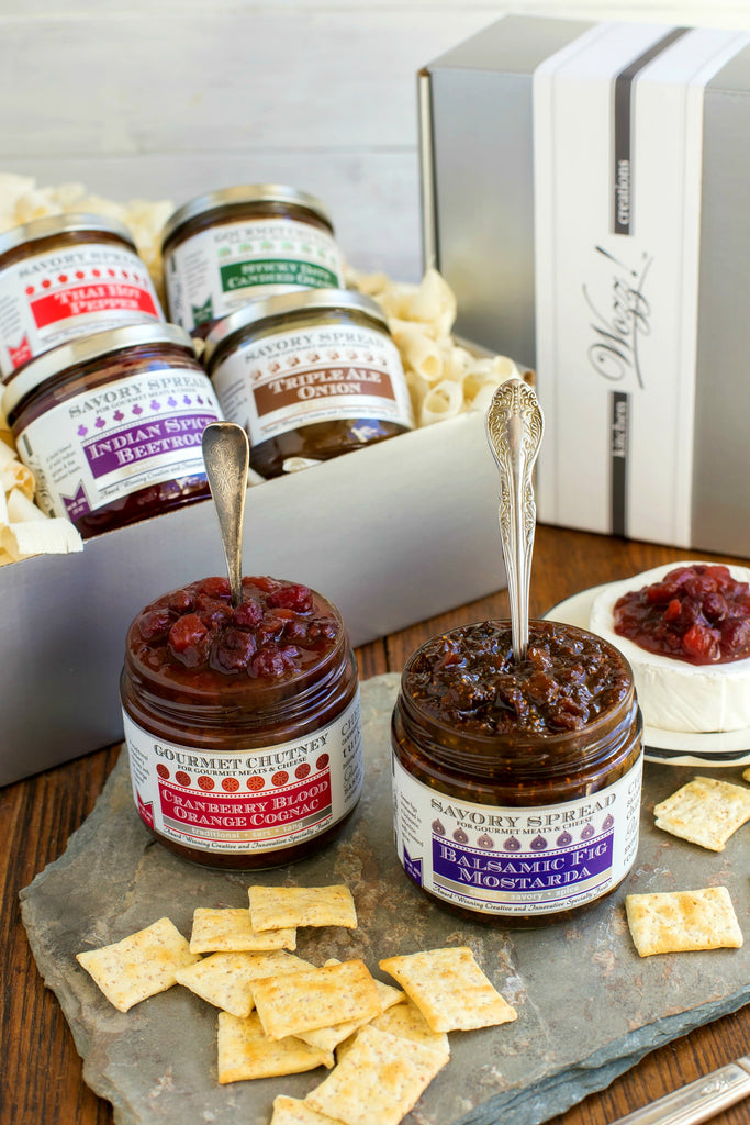 Gourmet Jams and Spreads For Cheese Gift | Wozz! Kitchen Creations