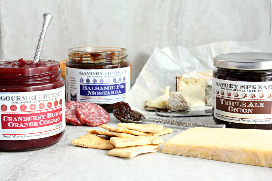 Cheese Pairing Spreads and Condiments | Wozz! Kitchen Creations