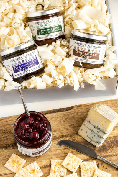 Classic Cheese Pairing Condiments Gift Set | Wozz! Kitchen Creations