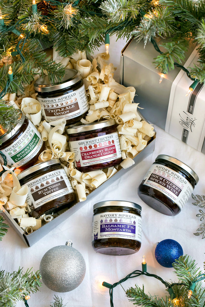 Gourmet Spreads for Holiday Entertaining Gift Box | Wozz! Kitchen Creations