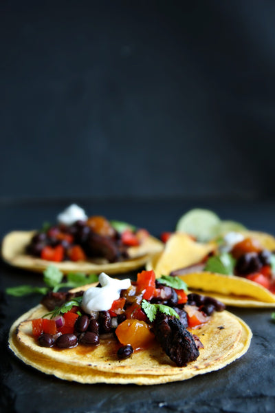 Spicy Summer Mango Tacos | Wozz! Kitchen Creations