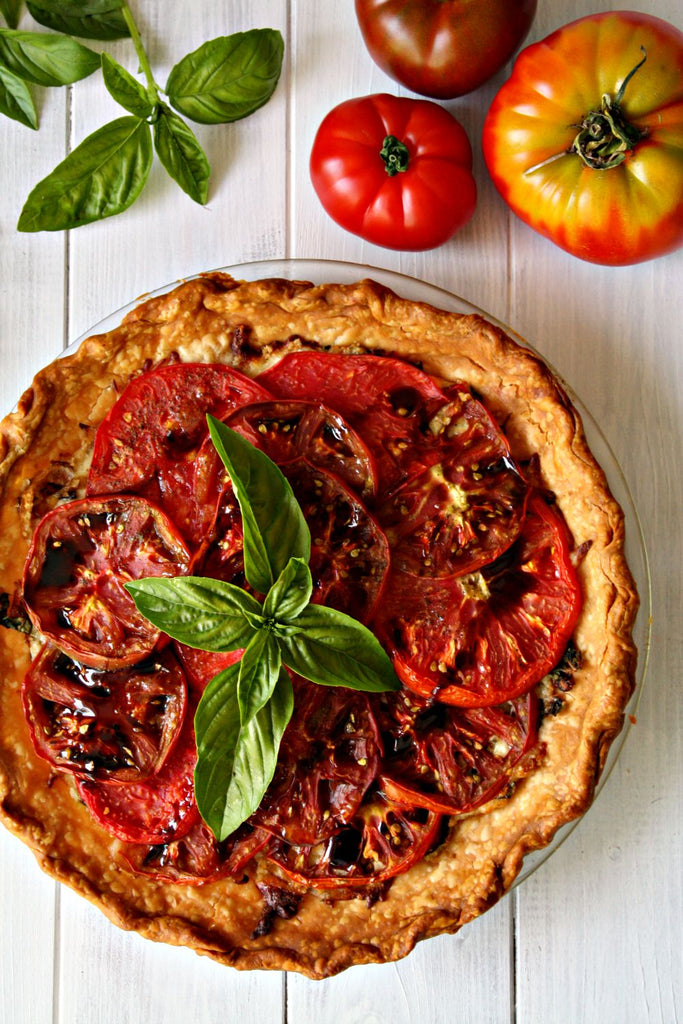 Heirloom Tomato Pie | Wozz! Kitchen Creations
