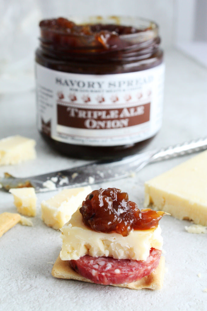 Triple Ale Onion Jam For Cheese | Wozz! Kitchen Creations