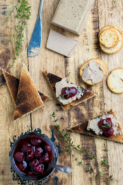 Pate with Sour Cherry Spread