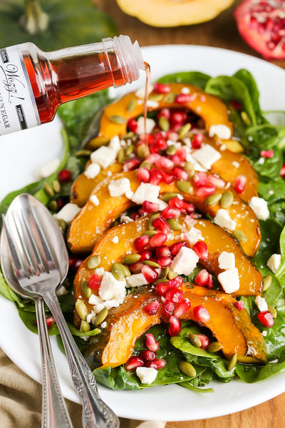 Roasted Acorn Squash Salad | Wozz! Kitchen Creations
