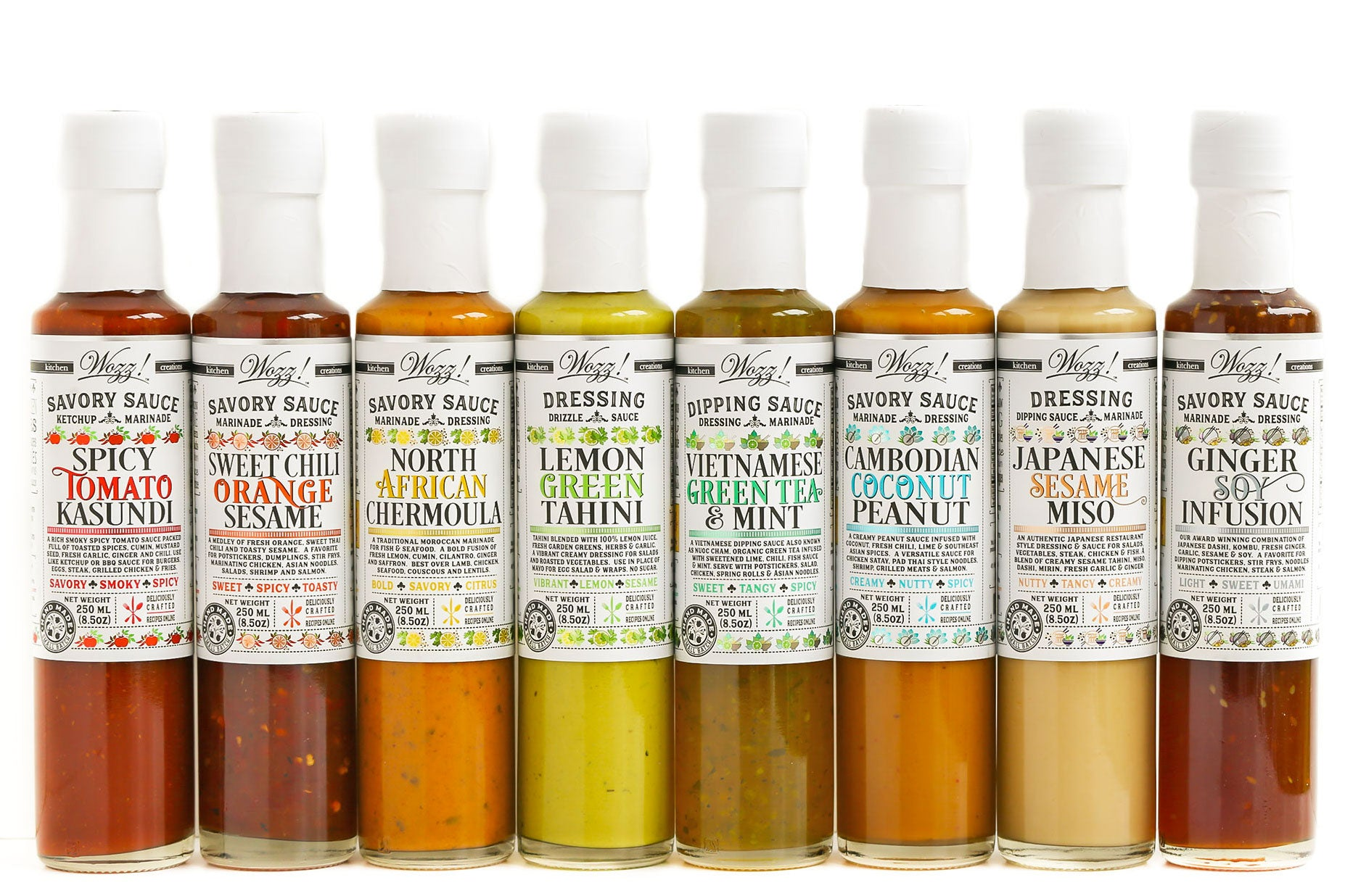 Sauces | Marinades | Dressings | Wozz! Kitchen Creations