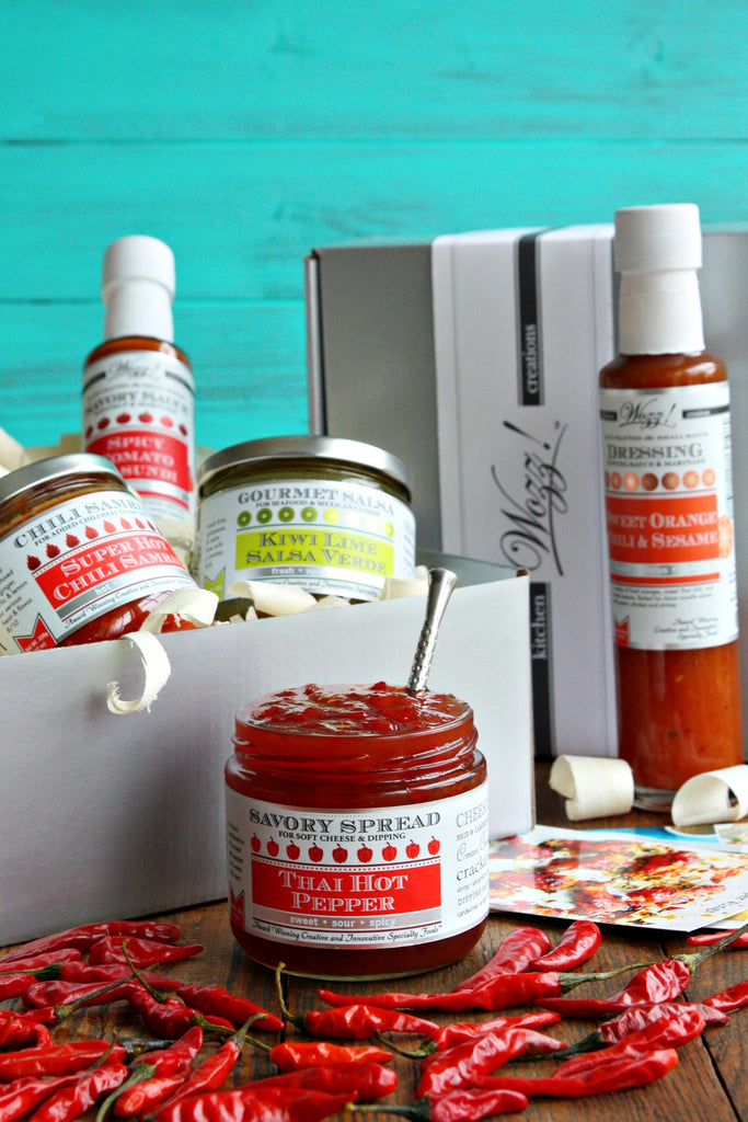 Hot Sauces Gift Set