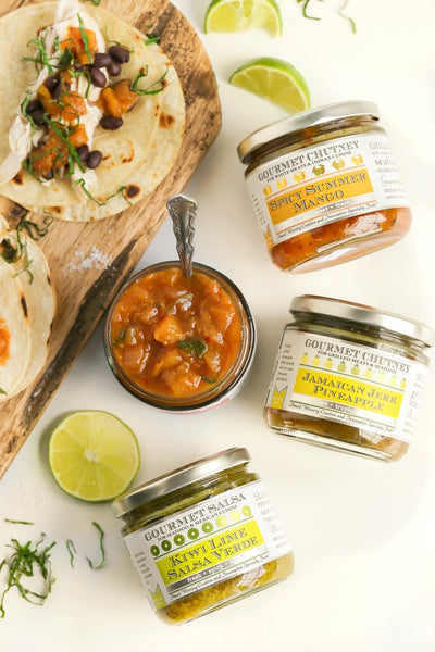 Taco Condiments | Wozz! Kitchen Creations