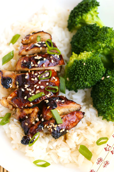 Teriyaki Chicken with Ginger Soy Sauce | Wozz! Kitchen Creations