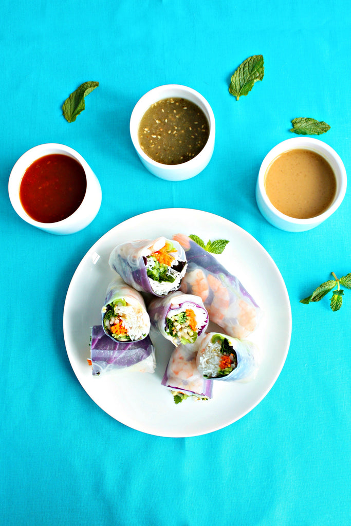 Vietnamese Summer Rolls | Summer Roll Dipping Sauces