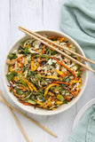 Asian Mango Slaw with Vietnamese Lime Dressing