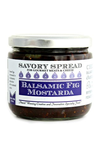 Balsamic Fig Mostarda Spread | Gourmet Spread
