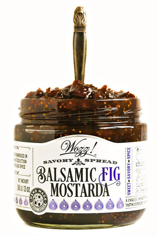 Balsamic Fig Mostarda Spread | Wozz Kitchen Creations