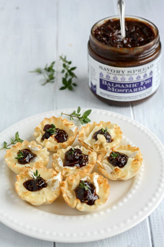 Brie and Fig Spread | Wozz! Kitchen Creations