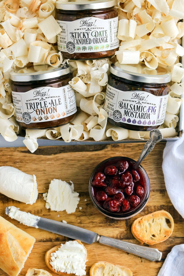 Cheese Pairing Spreads and Cheese Pairings Jams Gift Set | Cheese Pairing Gift