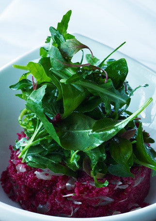 Beet Couscous Salad with Fig & Walnut by Wozz! Kitchen Creations