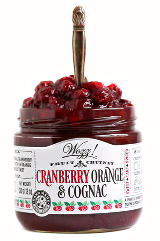 Cranberry Orange Cognac Chutney