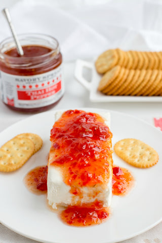 Cream Cheese and Hot Pepper Jelly | Wozz! Kitchen Creations