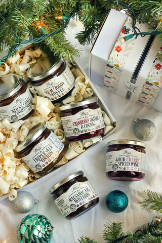 Gourmet Spreads For Holiday Entertaining Gift Box