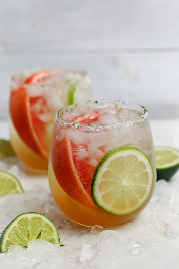 Grapefruit Honey Tequila Paloma