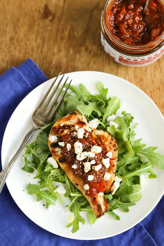 Grilled Chicken with Moroccan Tomato Relish | Wozz!