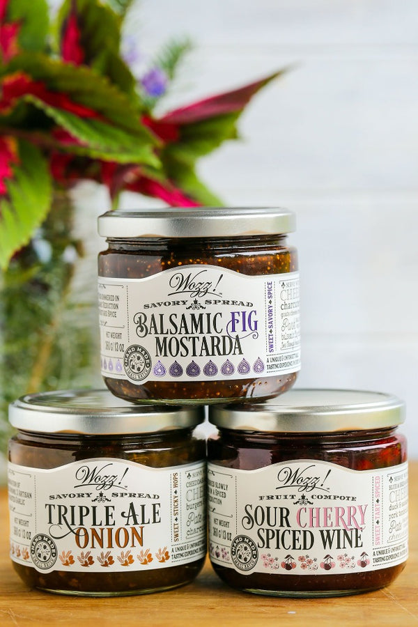 Jams For Cheese and Charcuterie - Perfect Hostess Gift For Entertainer