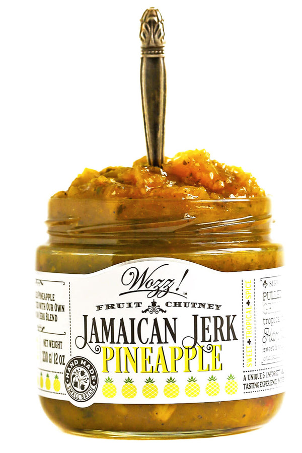 Jamaican Jerk Pineapple Chutney and Simmer Sauce