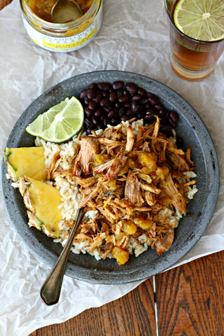 Jamaican Jerk Pineapple Pulled Pork Recipe