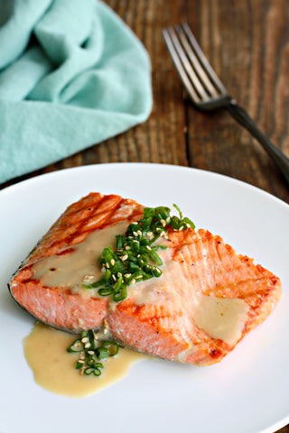 Japanese Sesame Miso Salmon | Wozz! Kitchen Creations