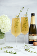Lemon Thyme Prosecco Cocktail