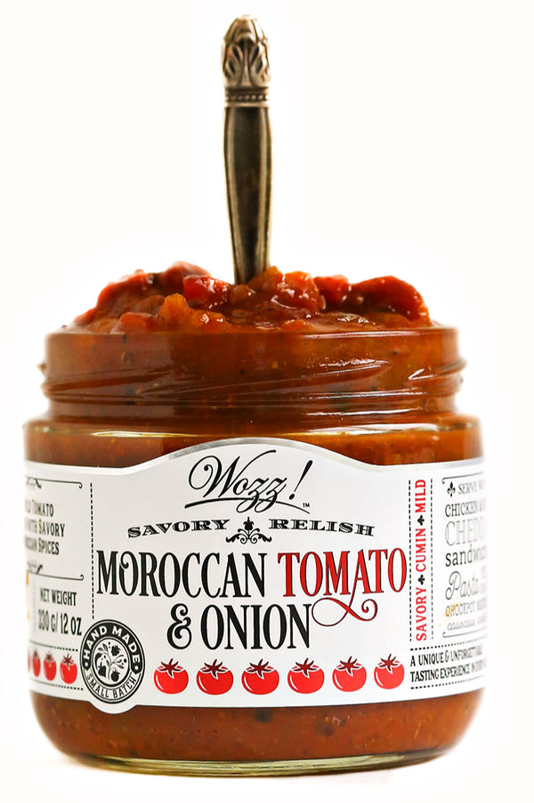 Moroccan Tomato Relish | Wozz Kitchen Creations