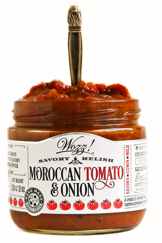 Moroccan Tomato Onion Savory Relish and Simmer Sauce