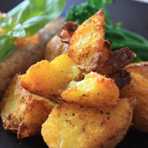 Crispy Spiced Country Potatoes