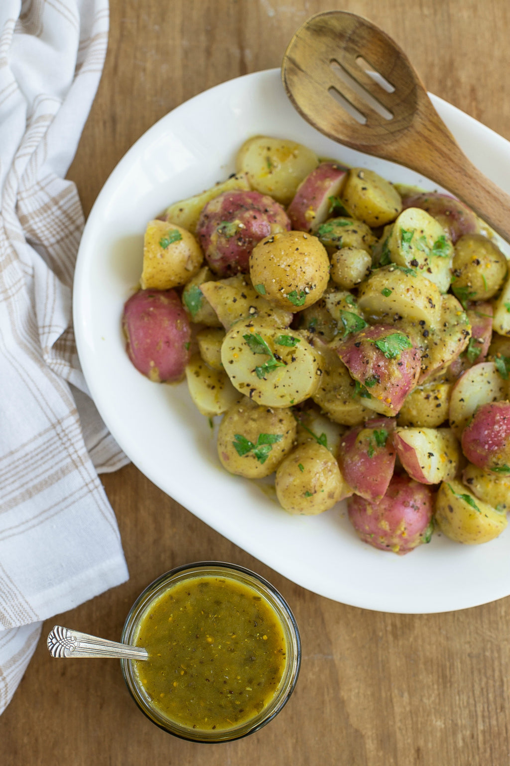 Salsa Verde Potato Salad | Wozz! Kitchen Creations