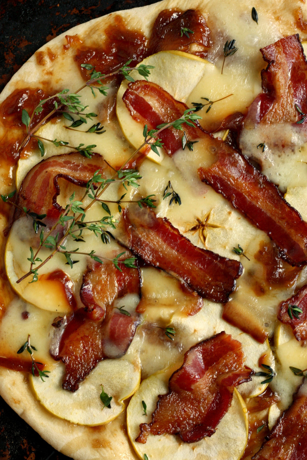 Bacon, Onion, Cheese Pizza | Wozz! Kitchen Creations