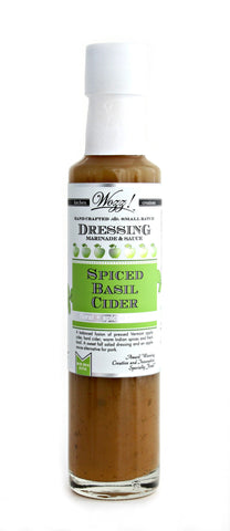 Spiced Basil Cider Dressing | Wozz! Kitchen Creations
