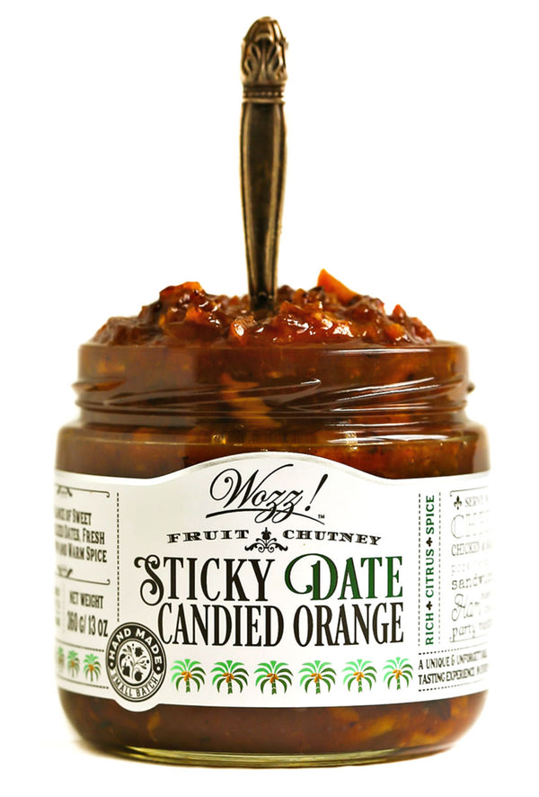 Sticky Date Candied Orange Chutney | Wozz Kitchen Creations
