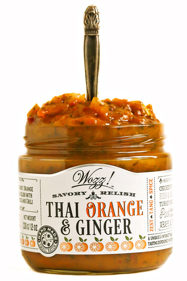 Thai Orange Ginger Savory Relish