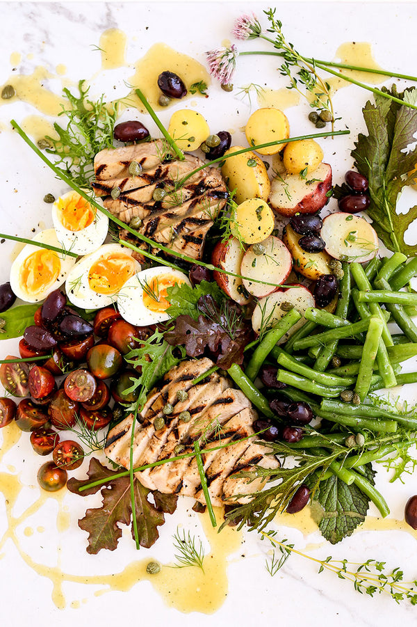 Tuna Nicoise with Lemon Thyme Vinaigrette