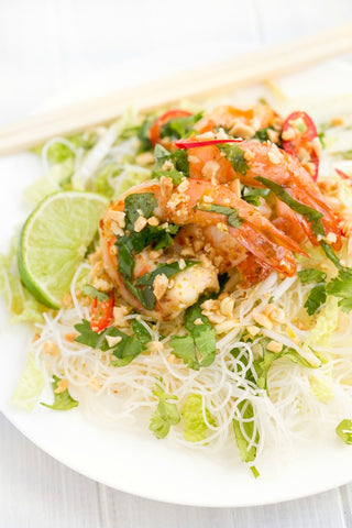 Vietnamese Shrimp Vermicelli with Nuoc Cham | Wozz! Kitchen Creations