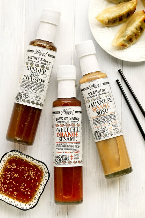 Asian Dipping Sauces | Dipping Sauces For Potstickers | Wozz! Kitchen Creations