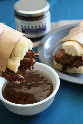 Balsamic Fig Roast Beef Sandwiches | Wozz! Kitchen Creations