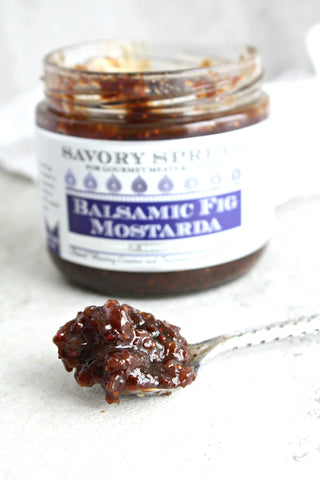 Balsamic Fig Mostarda Savory Spread