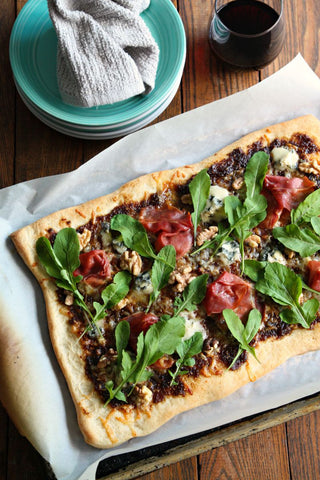 Balsamic Fig Pizza w/ Blue Cheese | Wozz! Kitchen Creations