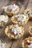 White Chocolate Banana Cream Pie Tarts